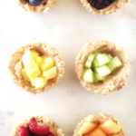 Vegan Rainbow Fruit Tarts