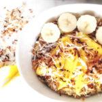 Vegan Mango Coconut Oats