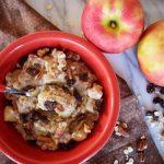 Vegan Crockpot Apple Cinnamon Oats
