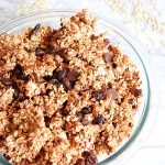 Vegan 3 Ingredient Nut Free Granola
