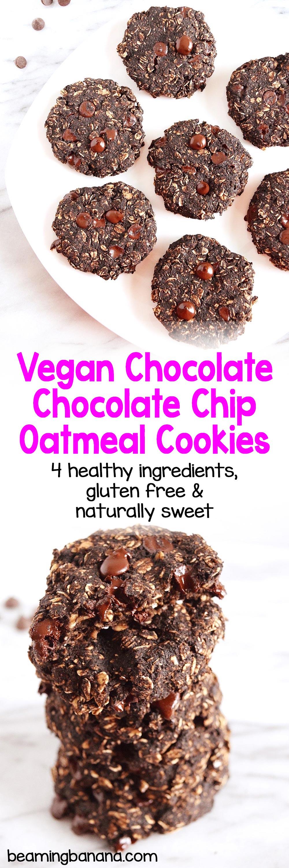 Oatmeal Cookies Cherry Chocolate